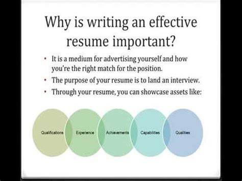 10 Tips For Writing An Effective Resume by Tips For Writing Effective Resumes