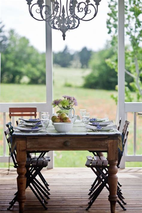 outdoor farmhouse dining table outdoor dining in country french style style charms and
