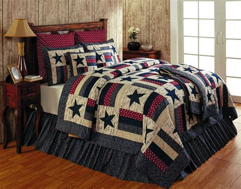 King Size Quilt And Shams by Liberty Americana 100 Cotton King Quilt 4 Pc Set Quilt 2