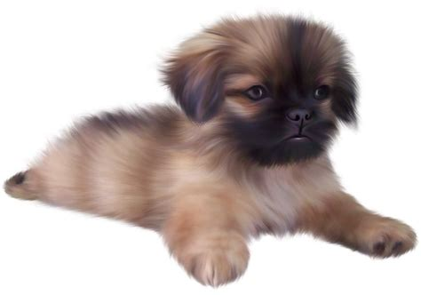 painted cute puppy png clipart gif pes pinterest