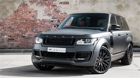 land rover kahn the black prince kahn range rover in satin black