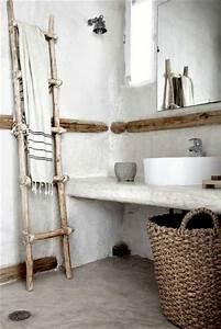 Panier De Rangement Salle De Bain : rangement salle de bain avec panier et porte serviette ~ Dailycaller-alerts.com Idées de Décoration