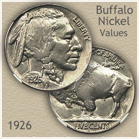 how much is a buffalo nickel worth 1926 nickel value discover your buffalo nickel worth