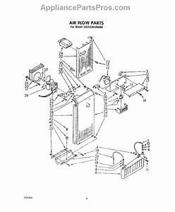 Whirlpool 482469 Evaporator Fan Motor Kit