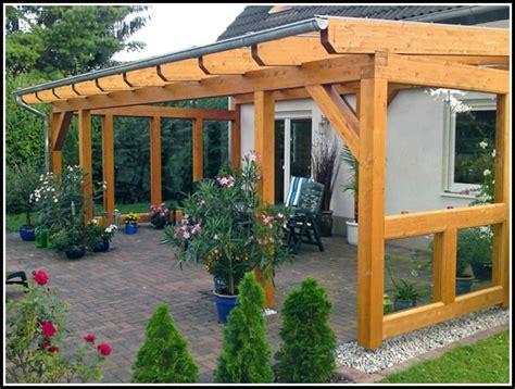 Terrassenueberdachung Selber Bauen by Terrassen 252 Berdachung Selber Bauen Holz Page