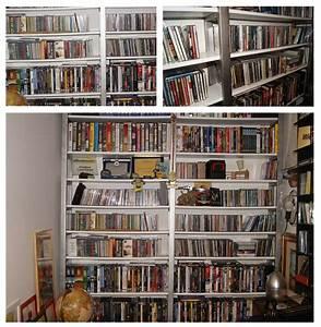 La videoteca libreria in ferro zincato e legno Cose di Casa