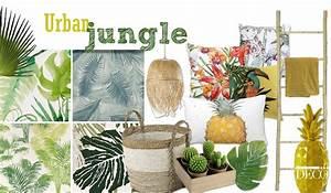Deco Table Tropical : urban jungle la d coration l 39 esprit tropical d coration et architecture d 39 int rieur home ~ Teatrodelosmanantiales.com Idées de Décoration