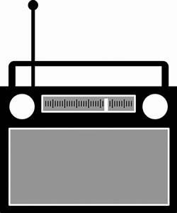 Radio Clipart Black And White   Clipart Panda - Free ...