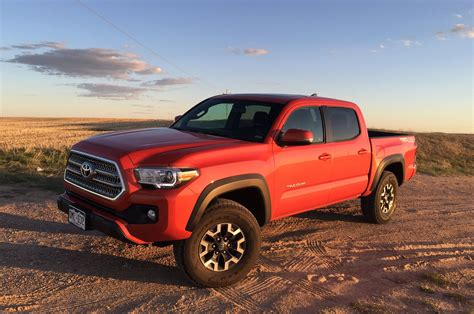 2016 Toyota Tacoma Trd Off-road Vs. Trd Sport