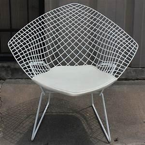 Bertoia Diamond Chair : white diamond chair by harry bertoia for knoll at 1stdibs ~ A.2002-acura-tl-radio.info Haus und Dekorationen