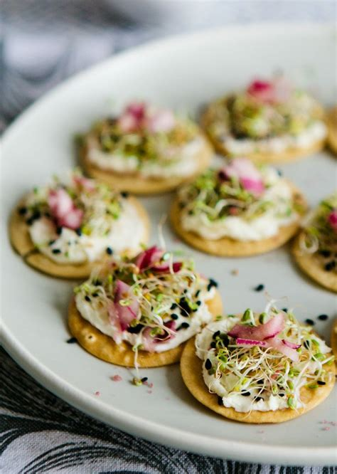 canape cups recipes tea cup tea mascarpone sprout canapes with coconut
