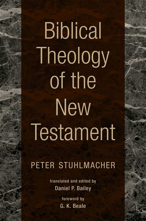 biblical theology    testament peter stuhlmacher