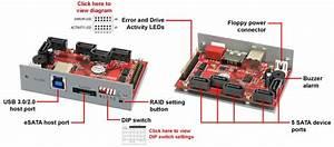 Addonics 5-port Hardware Port Multiplier