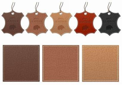 Leather Label Vector Psd Pack Photoshop Clipart