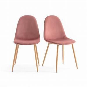 Chaises La Redoute Interieur : chaise lavergne lot de 2 la redoute interieurs la redoute ~ Teatrodelosmanantiales.com Idées de Décoration