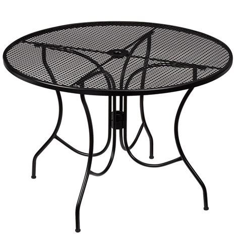 hton bay nantucket metal outdoor dining table