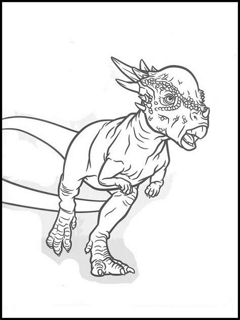 disegni da colorare dinosauri jurassic world jurassic world da colorare e stare 14