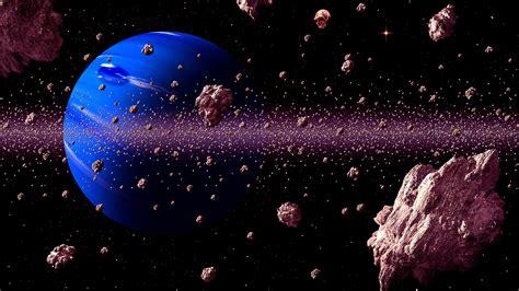 Digital Wallpaper Hd For Desktop by Asteroid Belt With Meteors Threat For Blue Planet Digital