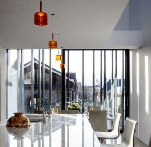 irlande cuisine maison contemporaine en forme courbe en irlande