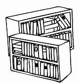 Mobili Bibliothek Bibliotecas Libreria Colorea Malvorlage Stampa Misti Libri Coloratutto Getdrawings Imagui sketch template