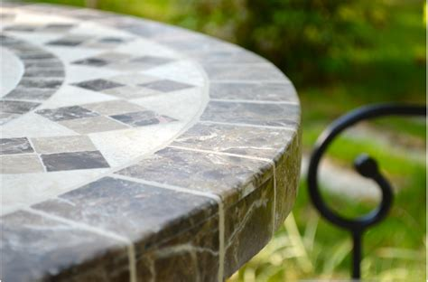 oval outdoor stone patio dining table marble