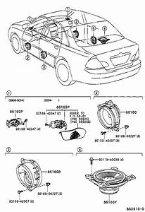 Toyota Avalon Speaker  Front   Electrical