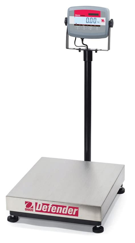 Ohaus Defender 3000 Bench Scale  Brady Systems