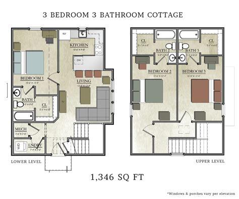 3 bedroom cottage capstone cottages of san marcos