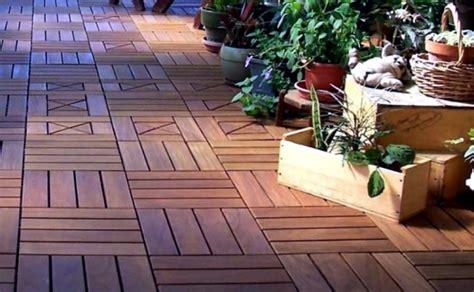 reasons   put   tiles wooden balcony