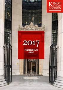 Postgraduate Guide 2017 By King U0026 39 S College London