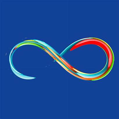 Loop Infinity Giphy Infinite Acht Gifs Galaxy