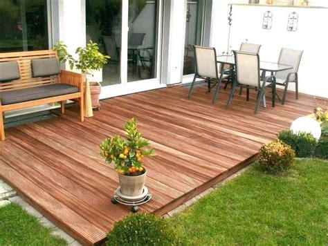 Holz Garten by Terrassen Ideen Holz