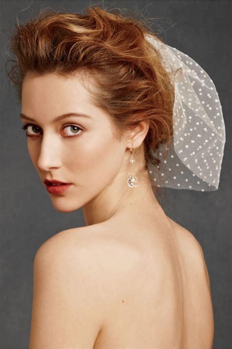 short hair  veil  wedding fashion belief
