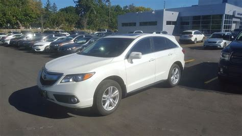 Acura Rdx Mileage by Pre Owned 2015 Acura Rdx Navigation Low Mileage Sunroof