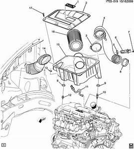 2008 Chevrolet Hhr Hatchback Insulator  Air Cleaner