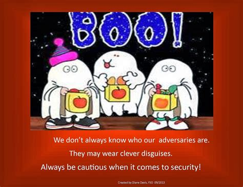 halloween security posters security checks matter