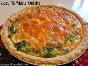 Easy Breakfast Quiche Recipe