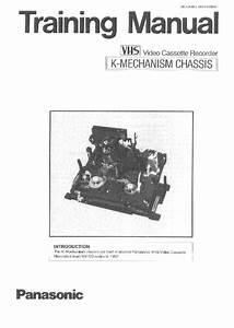 Panasonic K Mechanism Training Manual Service Manual
