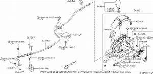 Nissan Murano Cover Control Knob  Transmission