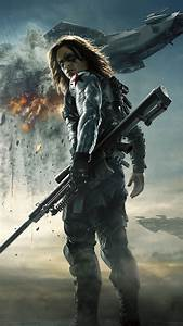 Bucky Barnes Winter Soldier - Best htc one wallpapers