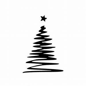 Weihnachtsmotive Schwarz Weiß : weihnachtsbaum mit stern hot and cool autoaufkleber ~ Buech-reservation.com Haus und Dekorationen