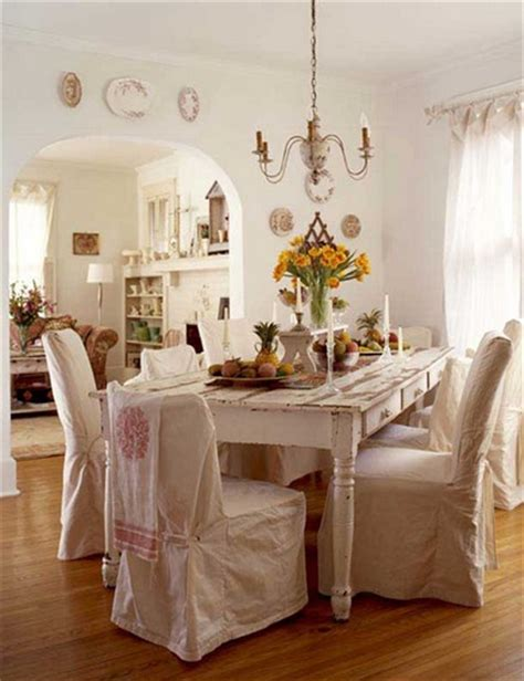 shabby chic dining chair slipcovers dining room chair slipcovers offers fresh look to your