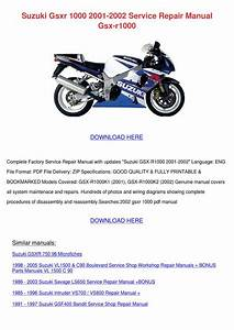 2002 Gsxr Wiring Diagram