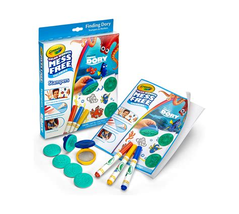 Color Wonder Mess Free Stampers Finding Dory Crayola