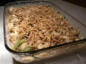 Chicken Casserole with Chow Mein Noodles