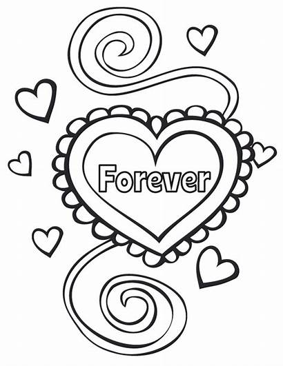 Forever Weddings Coloring Pages Printable Activity Printables