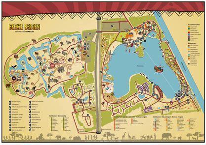 plattegrond libema vakantieparken plattegrond bergen