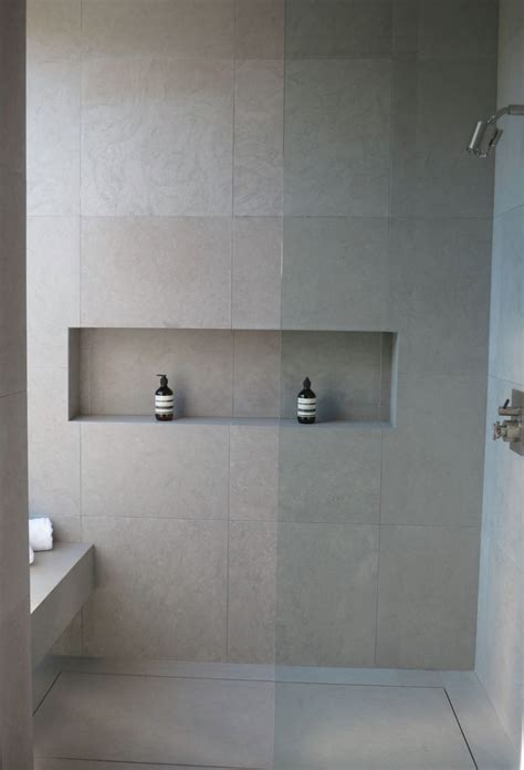 bathroom tile shelf   subway tile showers ideas
