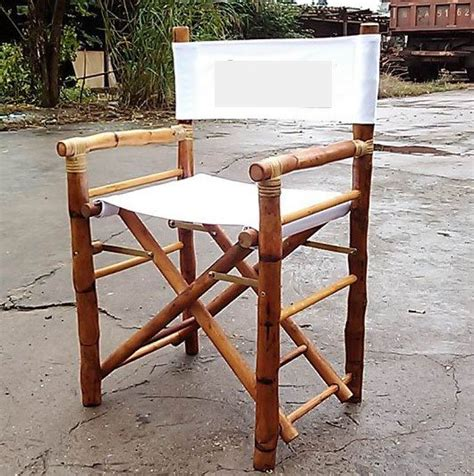 Bamboo Rattan Folding Director Chair(id2173842) Product