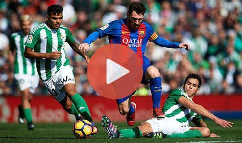 BARCELONA vs REAL BETIS 3-4- ALL GOALS & Highlights - 2018/11/11 HD - YouTube